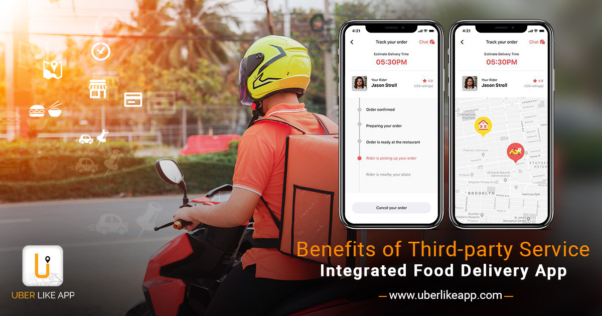 Benefits of Third-Party Service Integrated Food-Ordering App