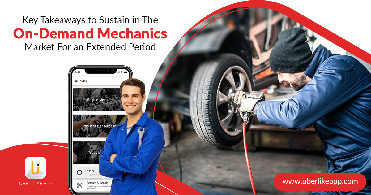 On Demand Mechanic App Development