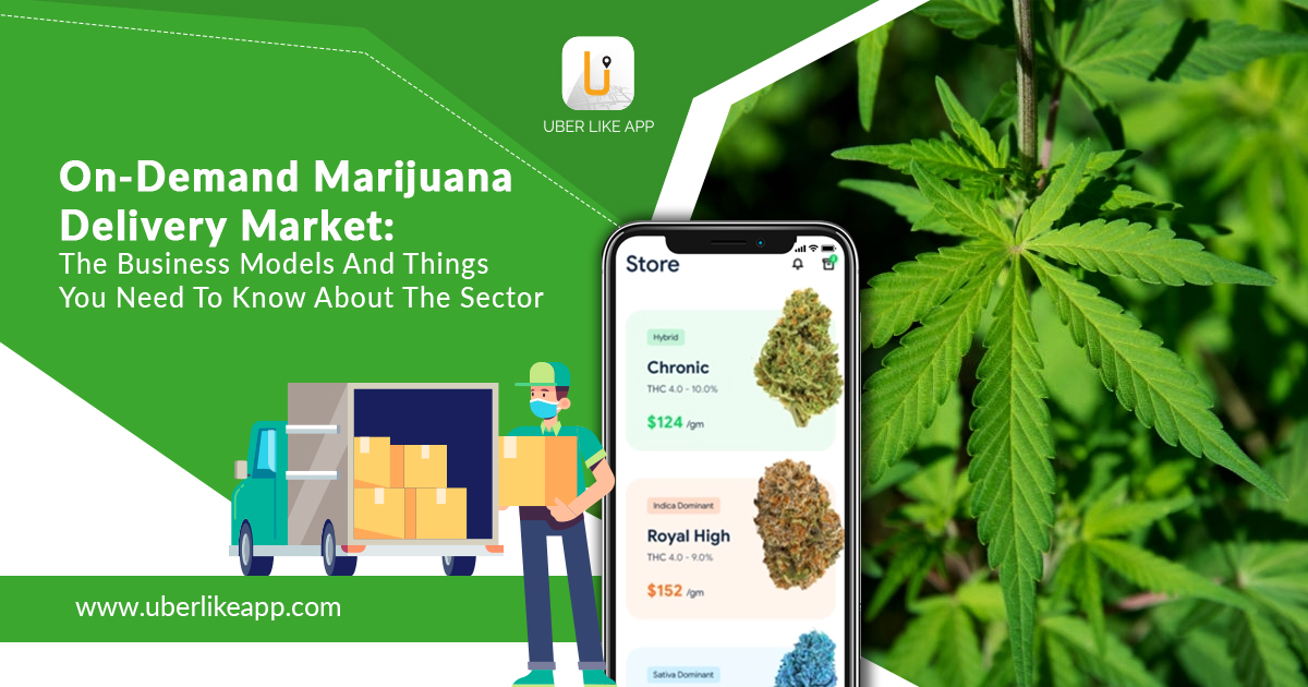 on-demand marijuana app development
