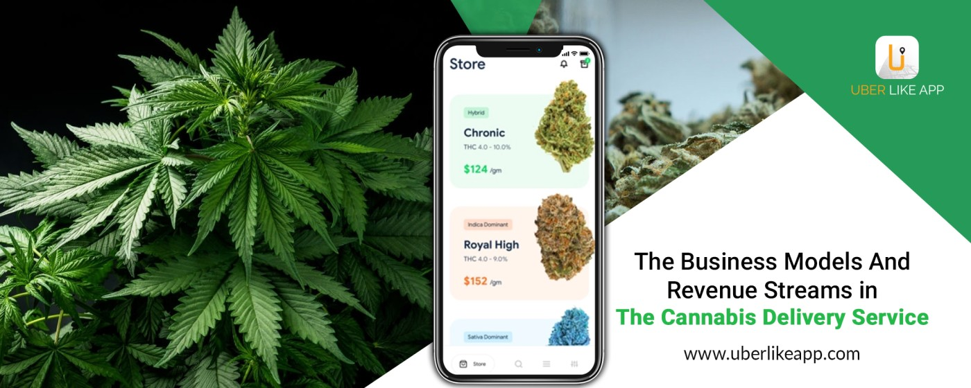 on-demand cannabis delivery app