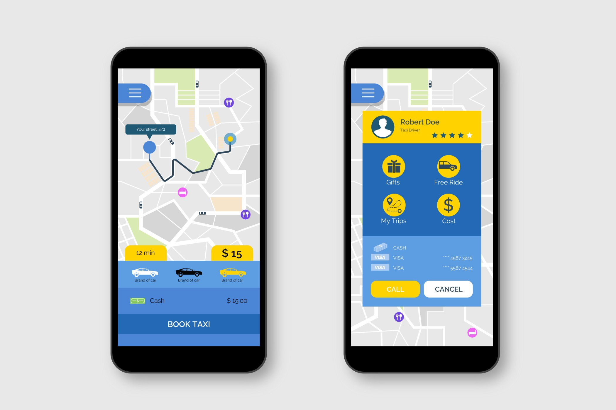 taxi booking app like Bolt